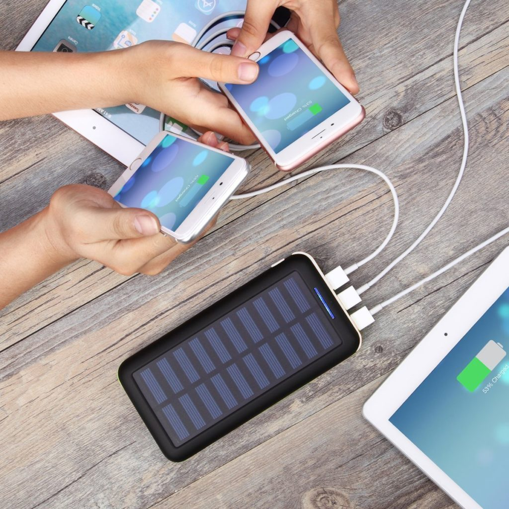 Cool Solar Energy Capturing Gadgets Gadgetwow How To Build Usb Powered Mobile Phone Battery Charger Pack Akeem Portable 22000mah External Power Bank With Dual Input Port And 3 Ports For Iphone Ipad